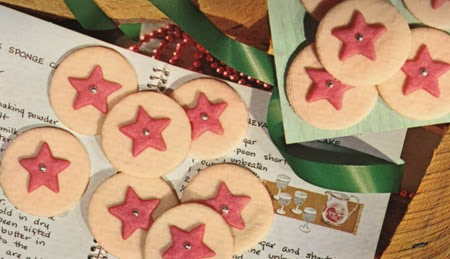 ismoyo's vintage playground: Star Bright Christmas Cookies Recipe