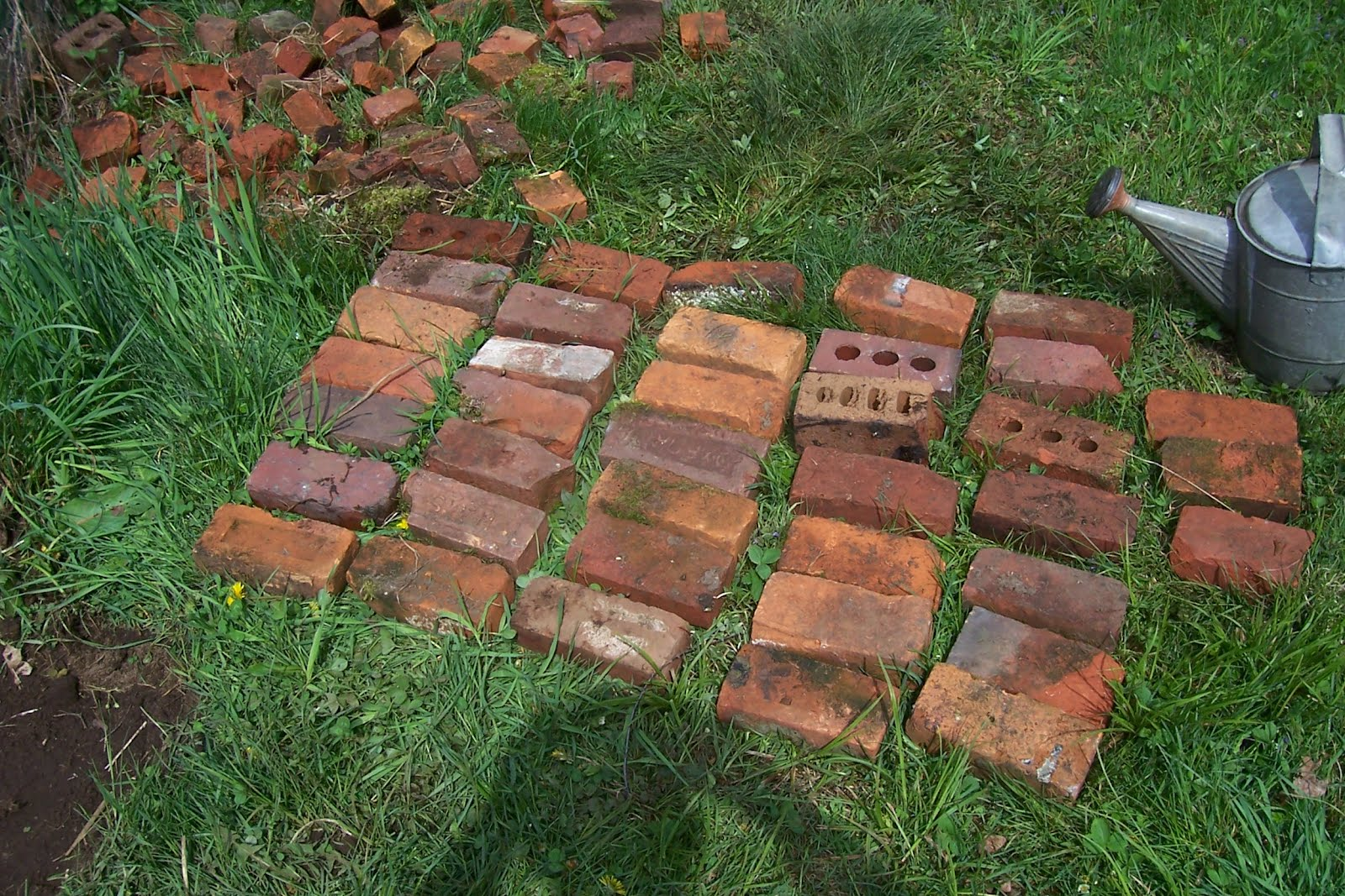 The Adirondack Homestead Journal: Making a Garden Gate Threshold ...