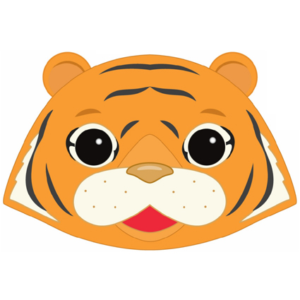 Tiger Mask Printable - Masks for Children