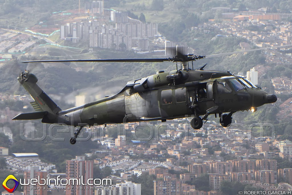 Black Hawk UH-60 Ejercito COlombia