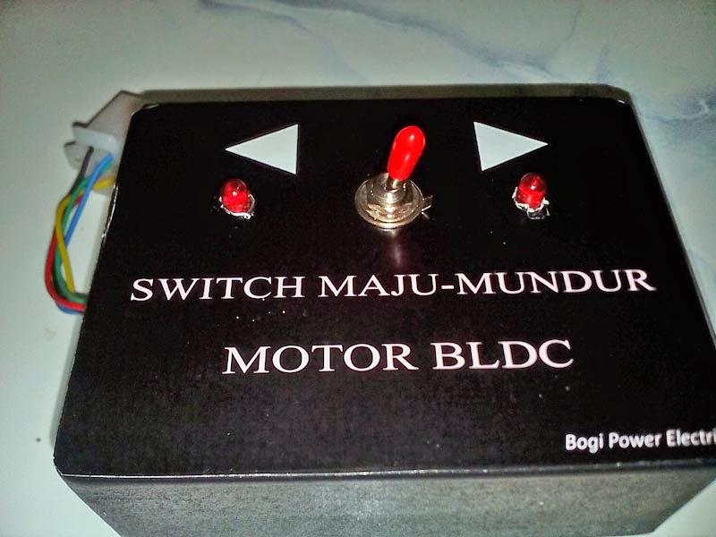 Membuat Alat Pembalik Motor Bldc
