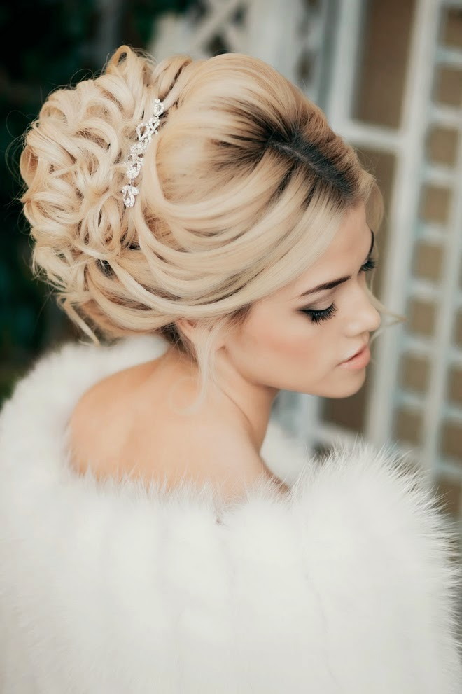 best wedding hairstyles of 2014   belle the magazine