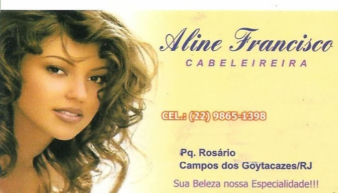 Cabeleireira - Aline Francisco