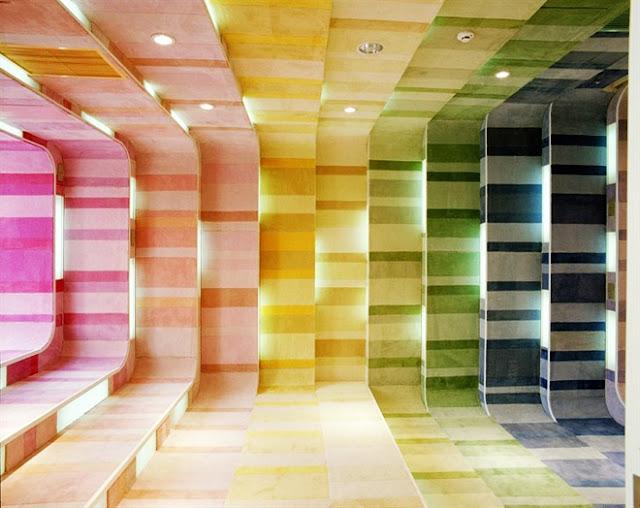 مكتبة الأطفال في الصين مكتبة رائعة بكل ألوان الطيف The-Kid-Republic-8