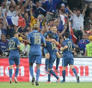 Resultado Ucrania Vs Francia – Eurocopa 2012