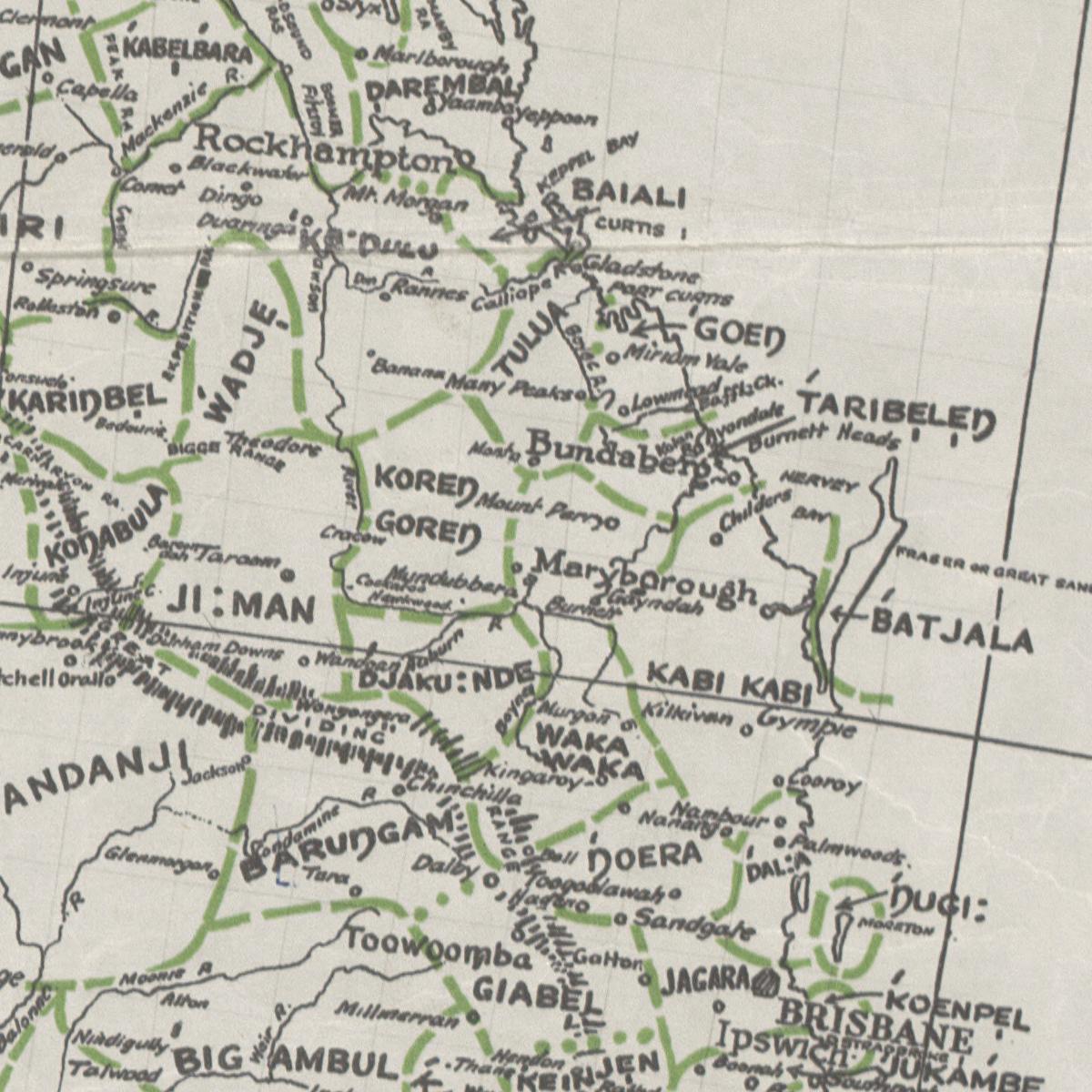 Gooreng Gooreng Country Maps