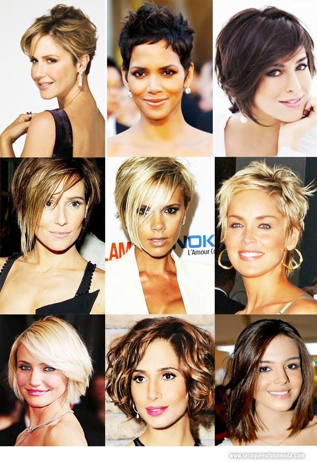 cabelos curtos estilosos