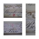 Shabby Chic plocice za vrata