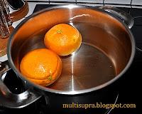 Апельсины отварить 1,5 часа