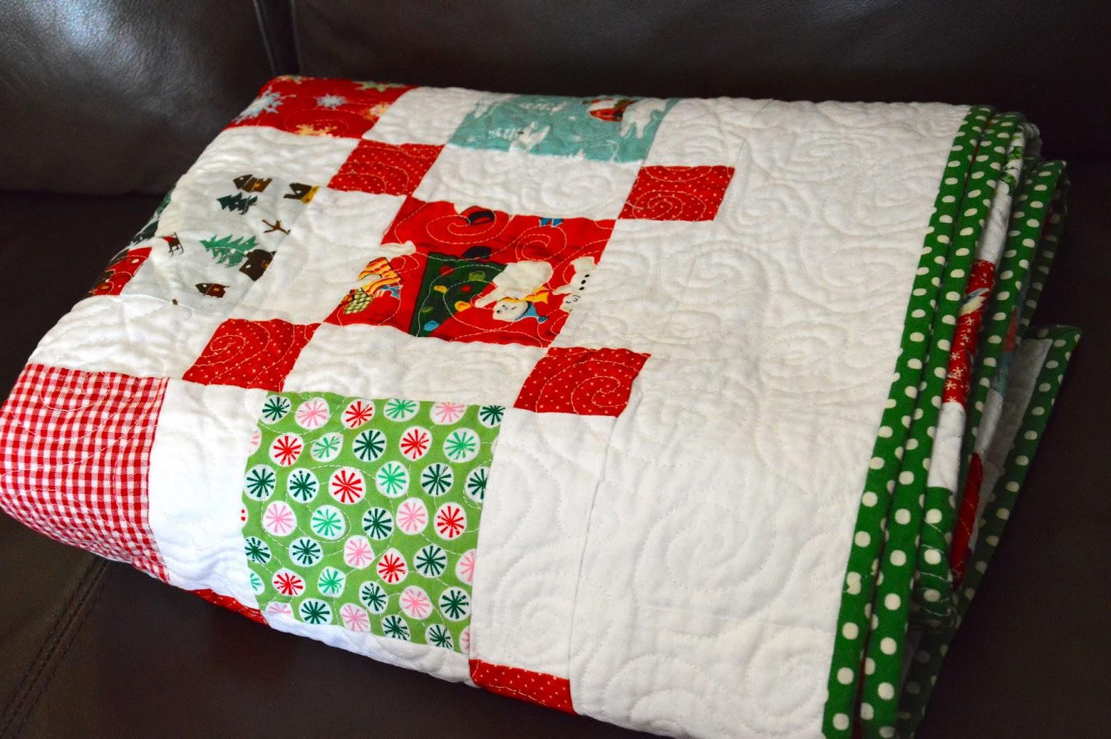 ocd: obsessive crafting disorder: December 2013 : vintage christmas quilt - Adamdwight.com
