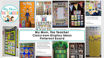 https://www.pinterest.com/MyMumtheTeacher/classroom-display-ideas/