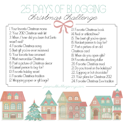Inspire Magazine Online - UK Fashion, Beauty and Lifestyle Blog: 25 Days of Blogging: Day Three; Christmas challenge;