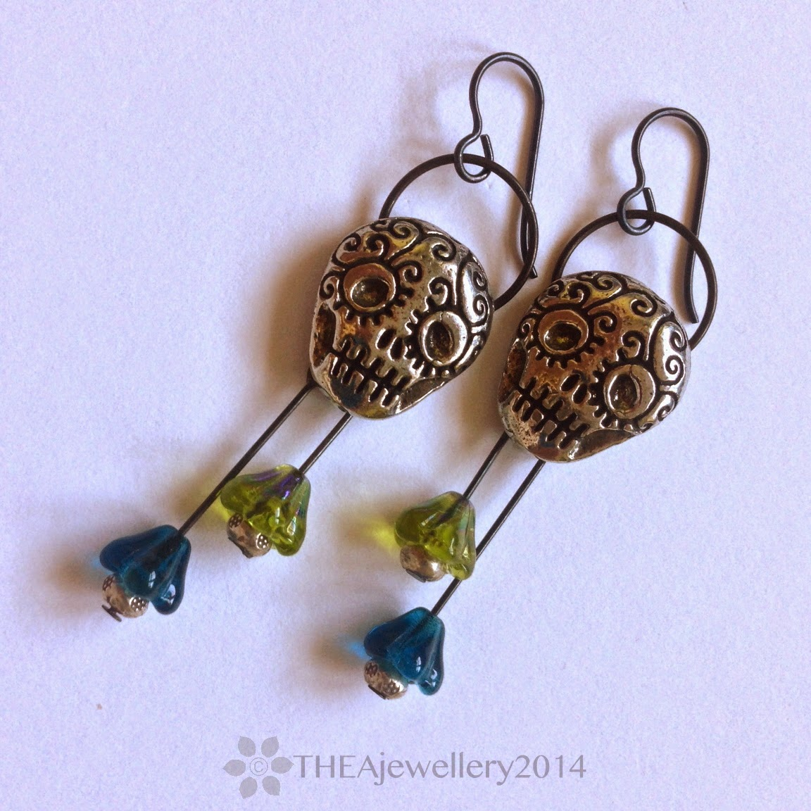 Art jewelry elements shank button earrings a quick how to for Buttons with shanks for jewelry
