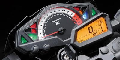 Kawasaki-Z250-2013-Panel-Instrumen