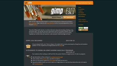 GIMP, Image Editor