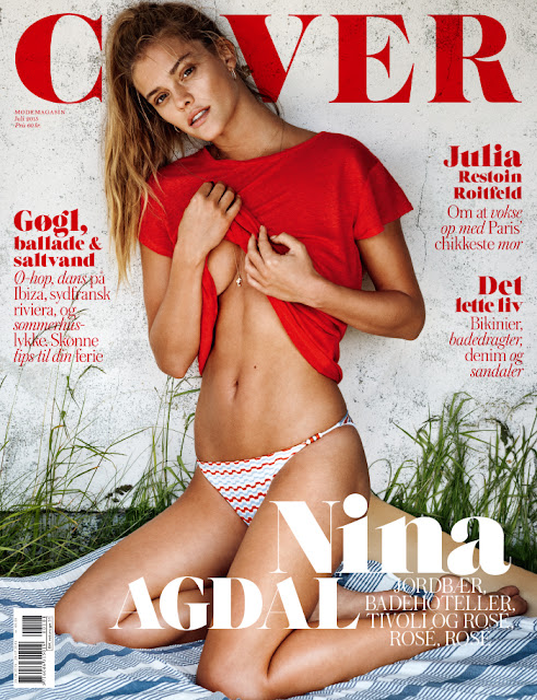 Fashion Model @ Nina Agdal - Cover Danmark, July 2015