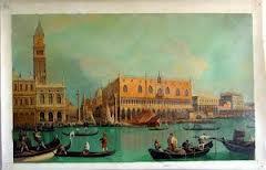 Canaletto Venice scene