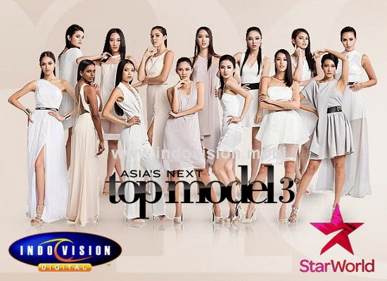 Jadwal acara Asia's Next Top Model cycle 3 di Star World.