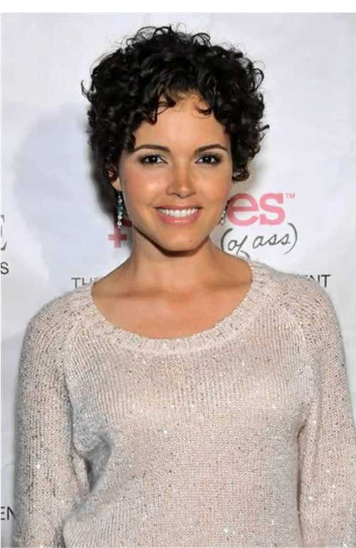 Short Curly Hairstyles 2015 Trends