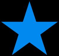 Dibujo HERLDICO Estrellas cometas y luceros
