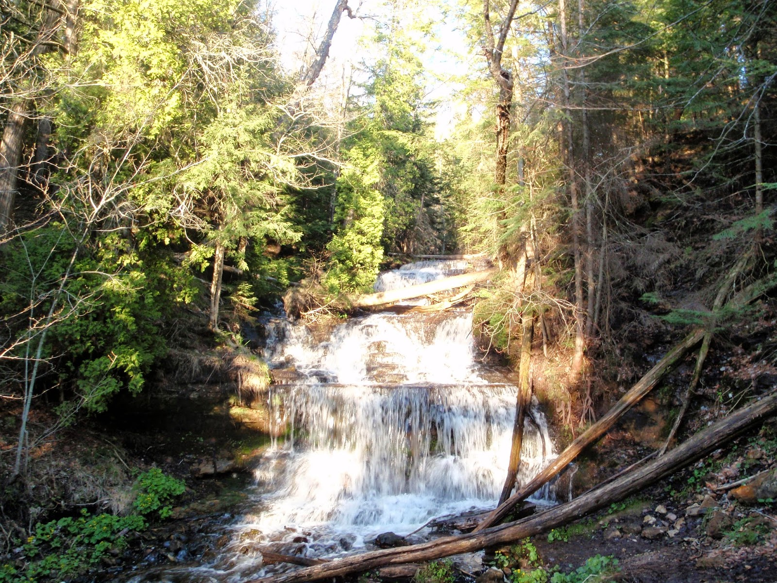 Wagner Falls, Munising Michigan