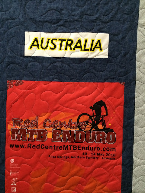 Karen Natale's Europe and Australia Quilt