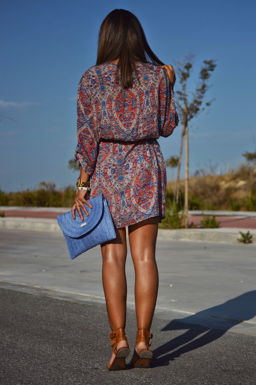 street style style fashion fashion blogger malaga malagueña outfit look ootd dress vestido summer lovely nice girl me cristina style stylish styles mango nice cute swag bag designer post blog de moda moda mood inspiration ootd wear
