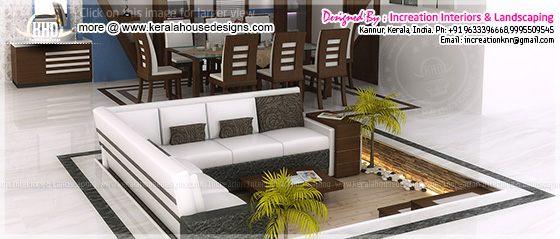 Sunken seating