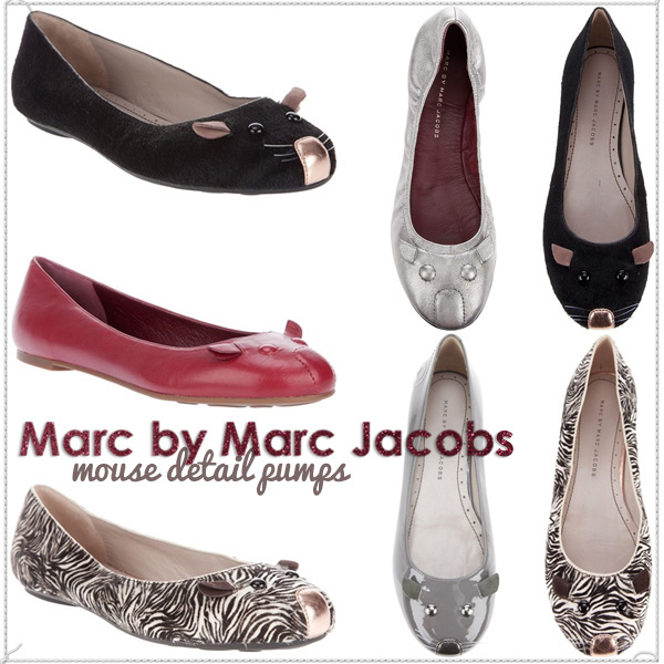 Marc By Marc Jacobs Mouse Pumps