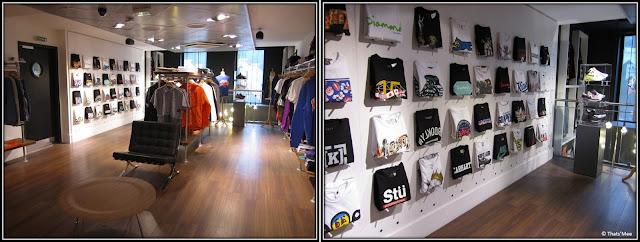 Size ? Paris Châtelet Les Halles shop streetwear sneakers, marque Staple IceCream Nets