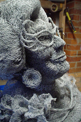 Sculptures Made From Chicken Wire by Ivan Lovatt Seen On www.coolpicturegallery.us