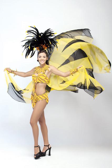 Srta. Colombia 2011-2012. Desfile en traje artesanal Cesar: Laura Quintero Dangond