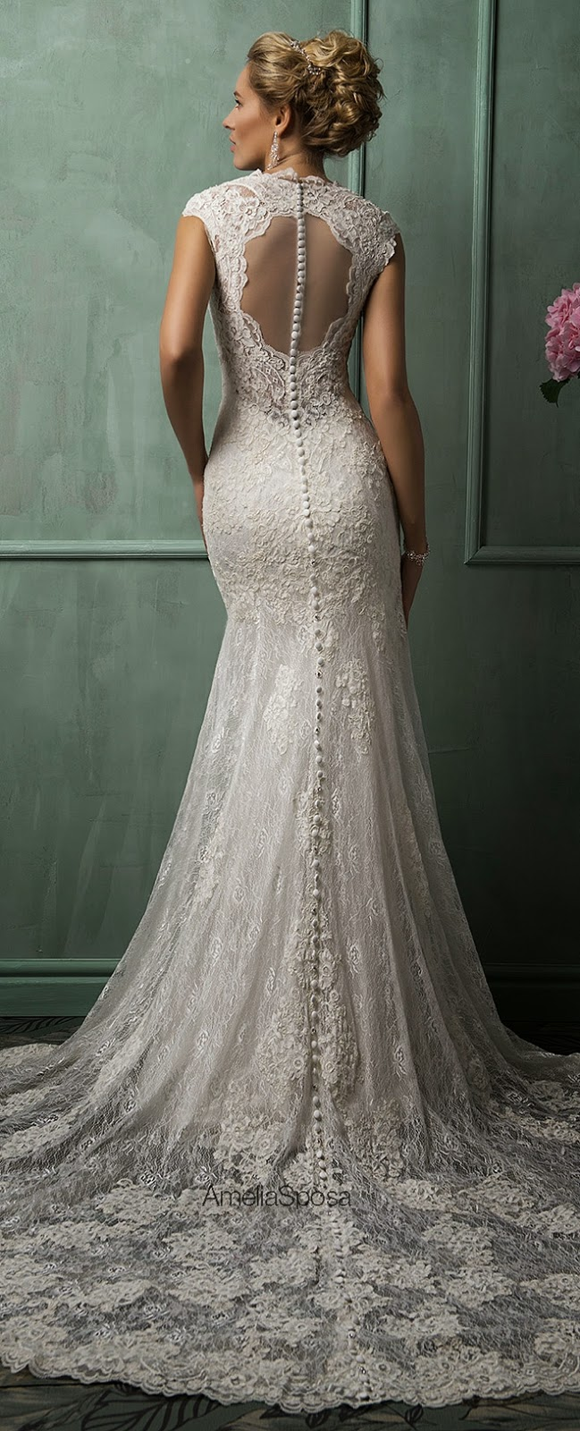 Amelia sposa 2014 wedding dresses belle the magazine for Amelia sposa wedding dress