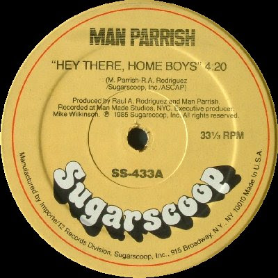 Man Parrish – Hey There, Home Boys (1985, VLS, 256)