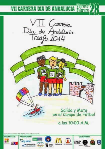 VII CARRERA DÍA DE ANDALUCÍA 2014