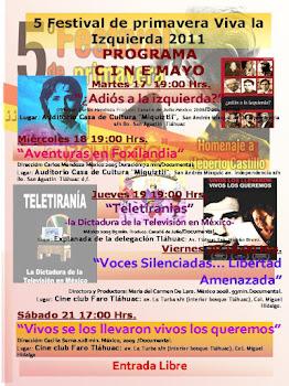 Viva La Izquierda Tláhuac 2011
