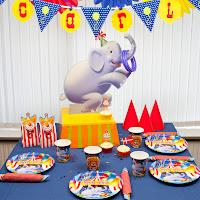 Cirkus tema til børnefødselsdag