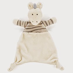 Little Jellycat Tiggy Zebra Soother