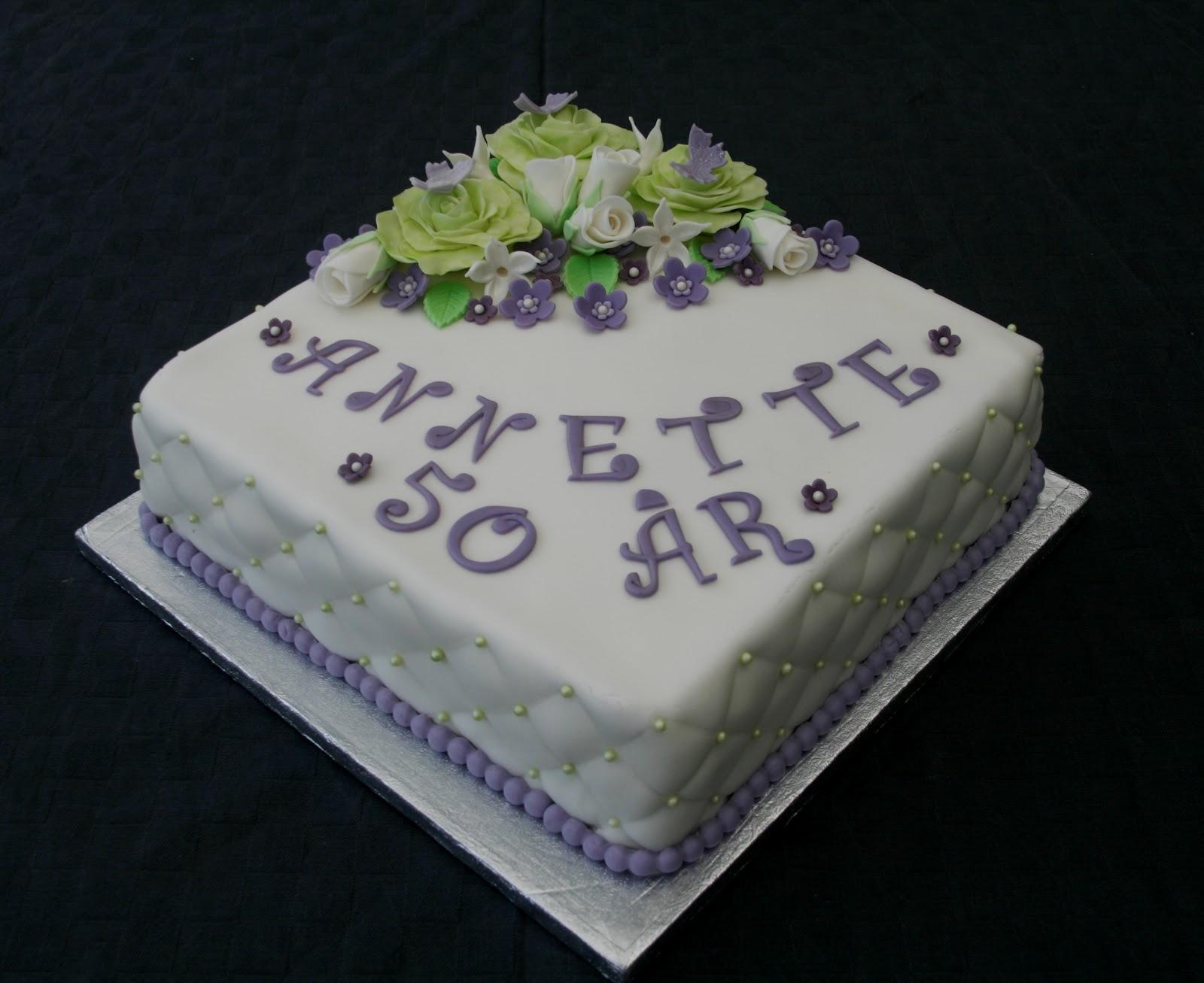 fødselsdagskage 50 år