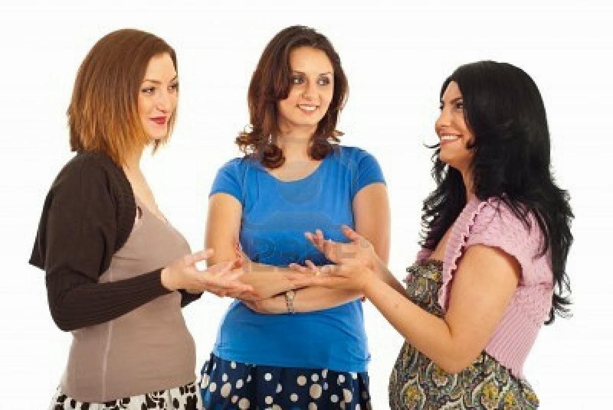 grupo de tres nenas bien putas