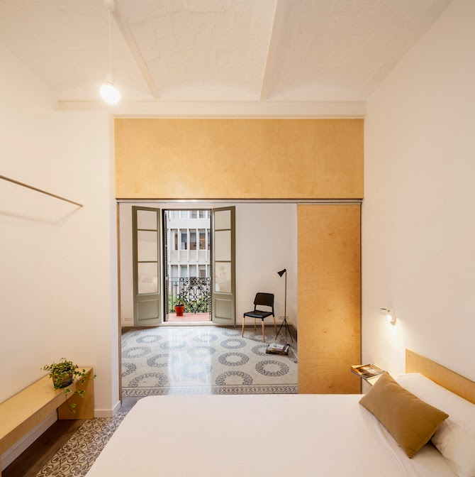 deliving design & craft: Un apartamento precioso en Barcelona