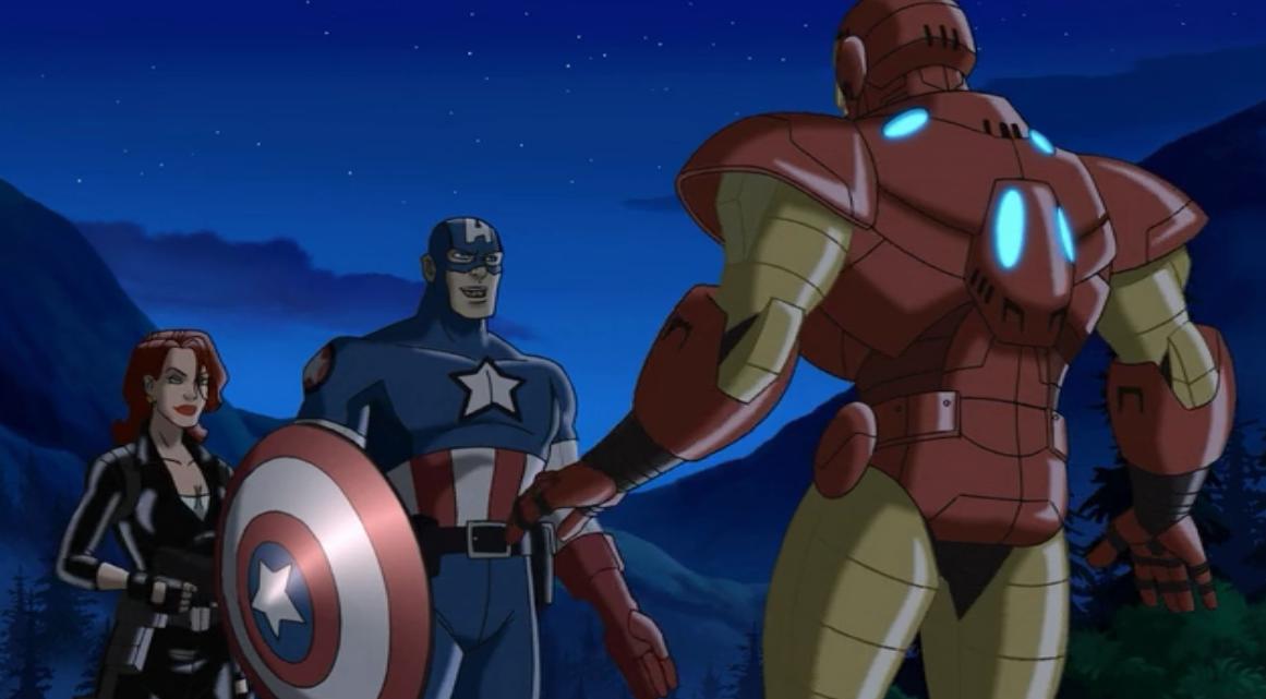 Captain America Avengers Animated New Avengers Captain America 2