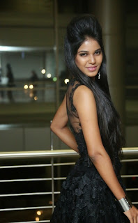 Deborah in a Sizzling Enchanting Black Transparent Designer Gown Must see Spicy Pics
