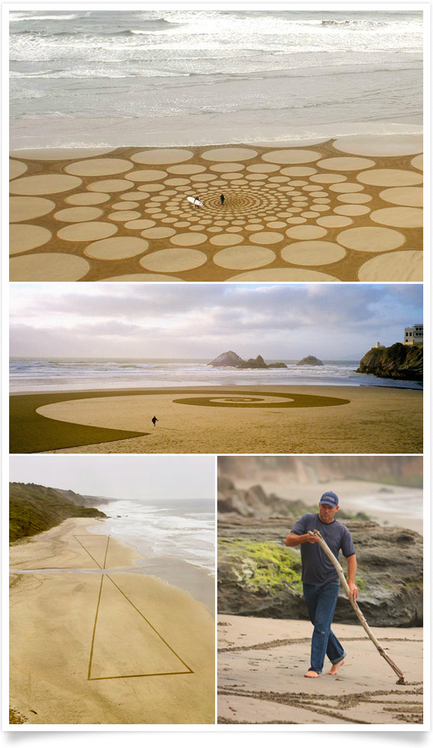 Land Art by Jim Denevan