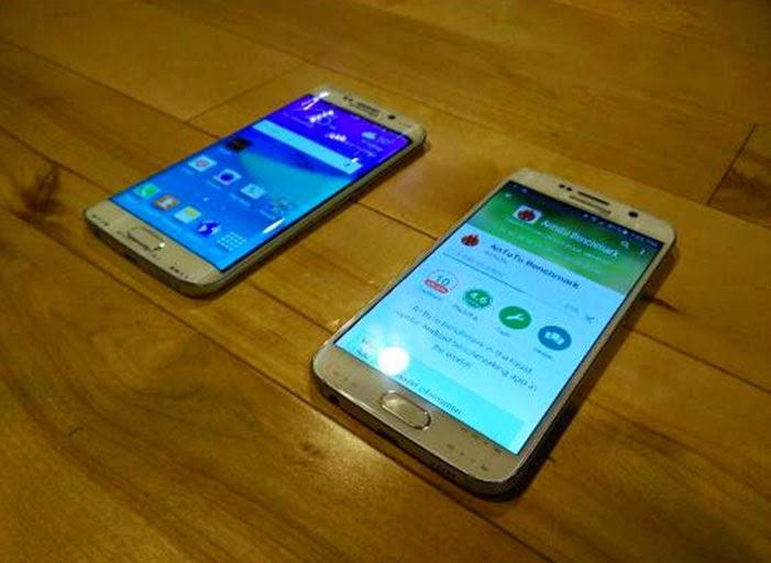 Galaxy S6 Ön