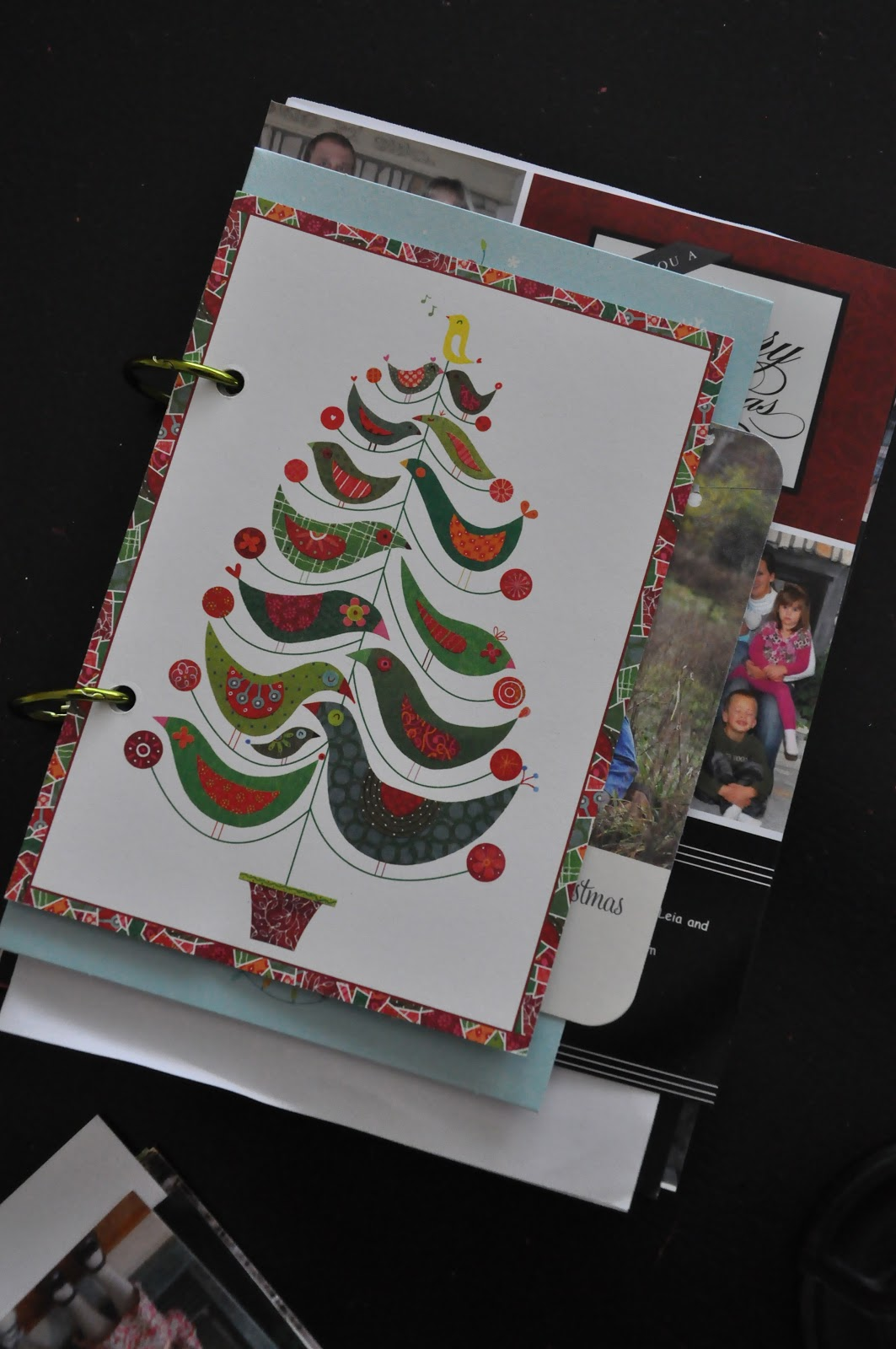 Little Bit Funky: a quick idea for your Christmas cards {make them ...