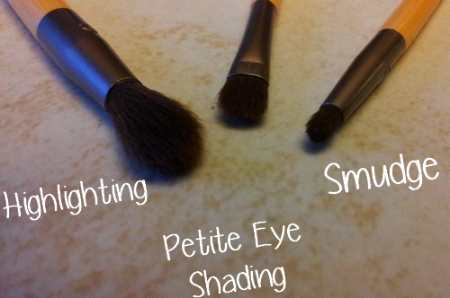 Highlighting petite eye shading smudge ecotools