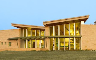 LEED-Silver Hagerman NWR Visitor Center designed by architect Jeffrey L. Zucker, LEED-AP AIA of Catalyst Architecture