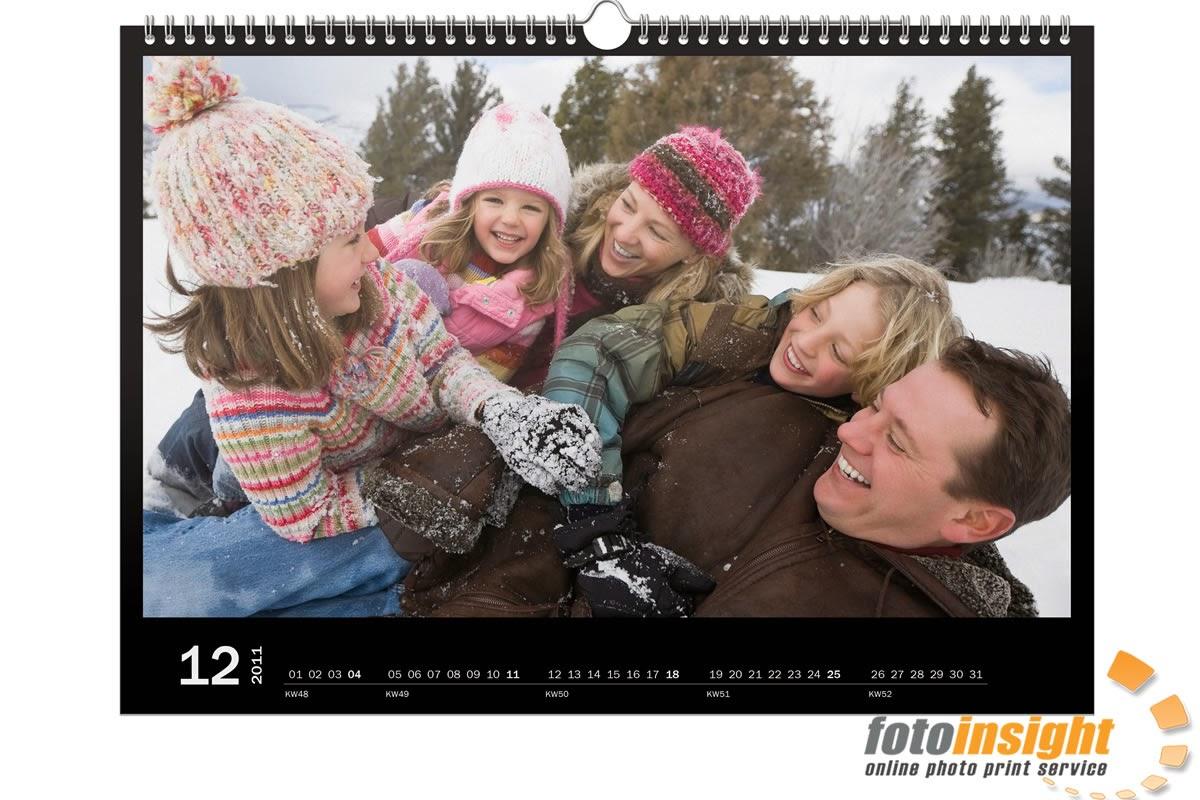Photo wall calendars