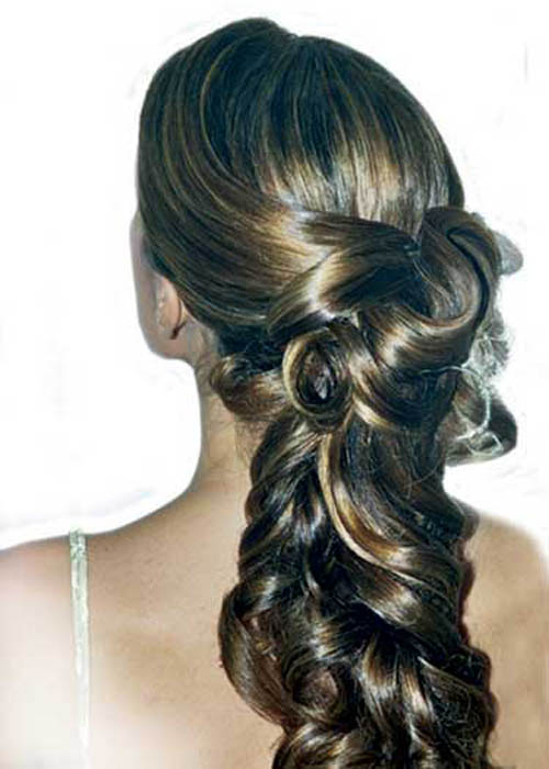 Magnificent Beautiful Wedding Hairstyles Long Hair 500 x 700 · 47 kB · jpeg